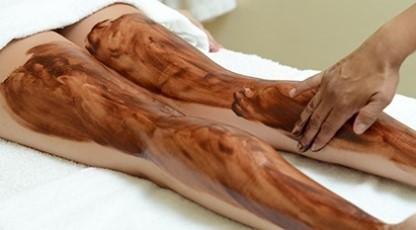 Chocolate en piernas
